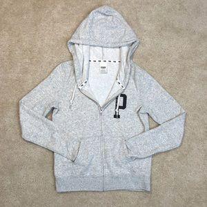 🐠2/$30 VS Pink Marled Grey Perfect Full Zip
